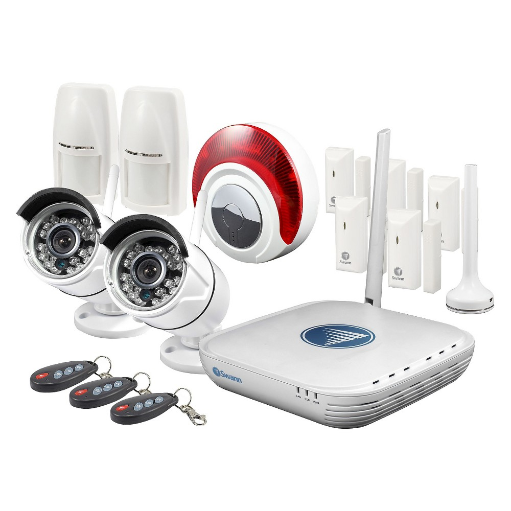 Home Security System Swann Products Best Home Security