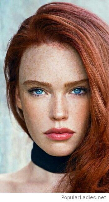 Red Hair And Blue Eyes Red Hair Blue Eyes Red Hair Freckles Beautiful Red Hair