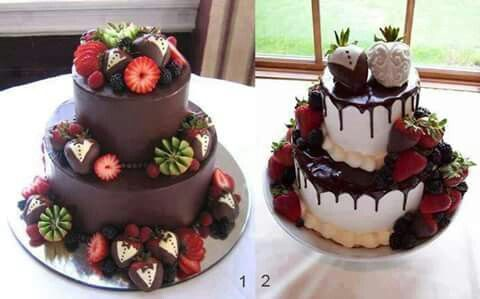 Two lovely cakes