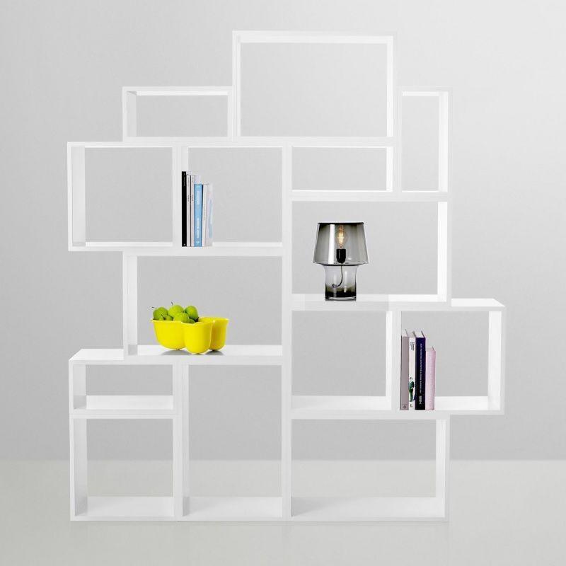 Muuto Stacked Systeme D Etageres Blanc Muuto Ambientedirect Com Idees Etageres Etagere Cubique Etagere Design
