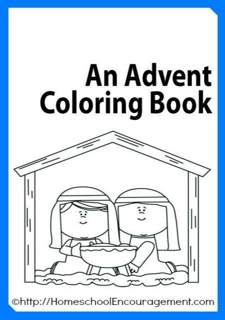 Free Advent Coloring Book Plus 100 S Of Advent Coloring Pages Linked Blessed Beyond A Doubt Advent Coloring Advent Crafts Preschool Christmas