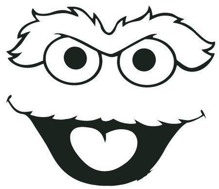 oscar the grouch is a muppet character on the television program rh pinterest com Sesame Street Clip Art Oscar the Grouch Cartoon