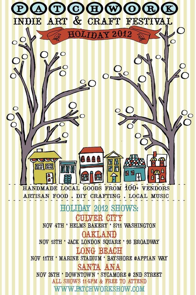 Patchwork Indie Art & Craft Festival flyer | Graphic design ...