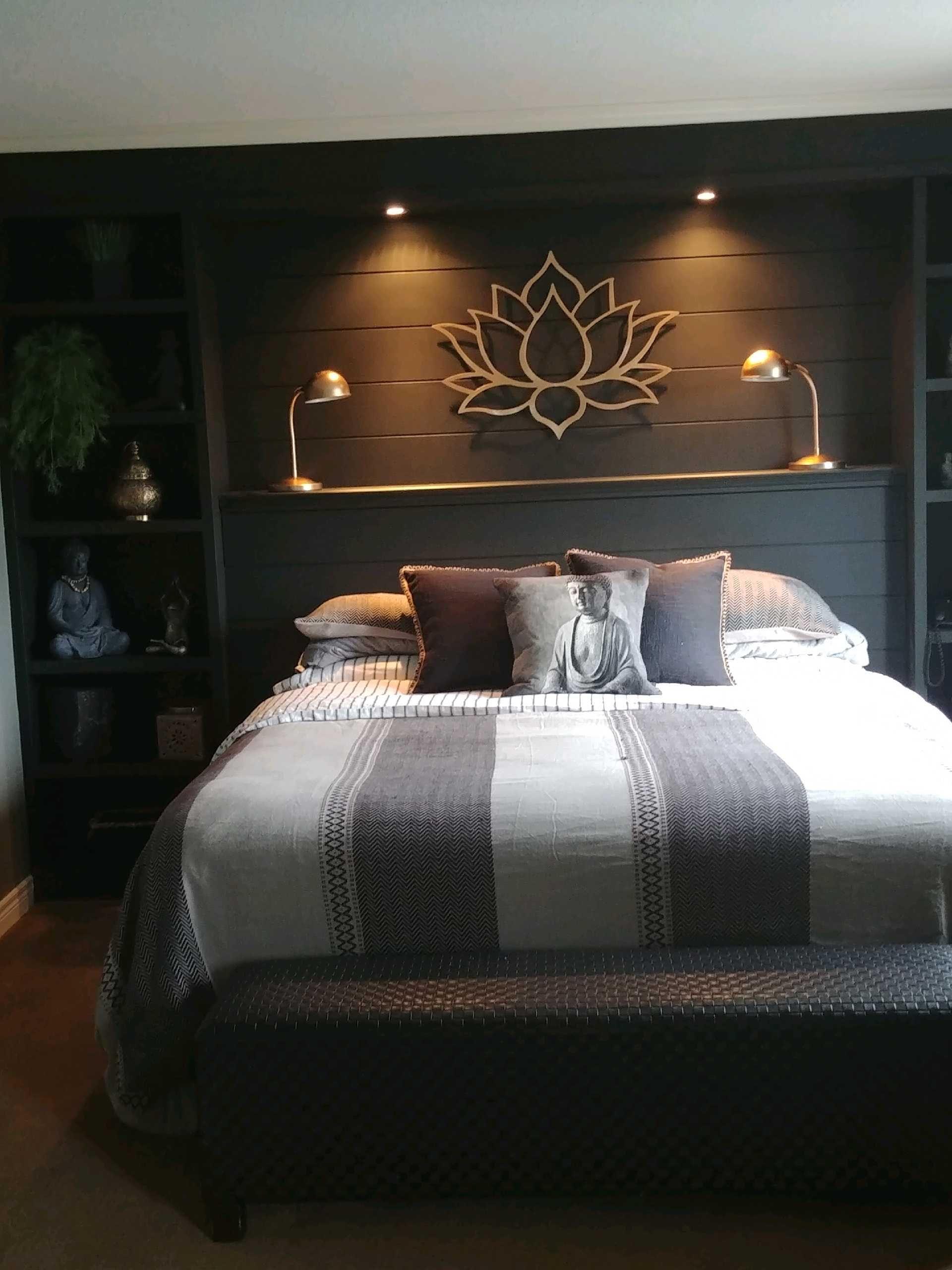 Zen bedroom in 2020 Zen bedroom, Home decor, Home