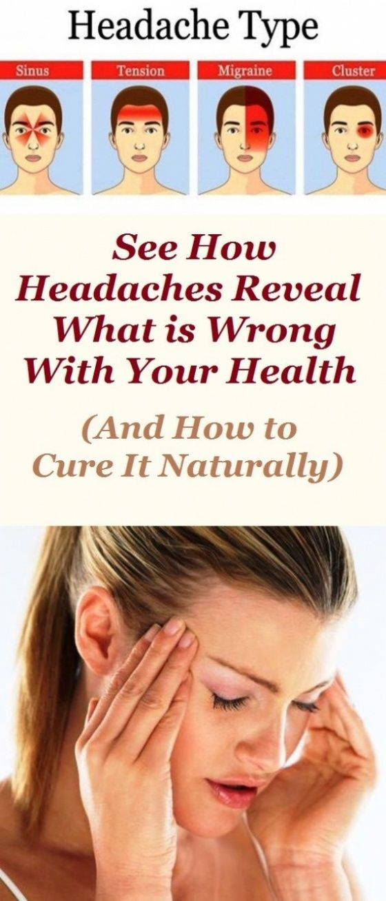 Headaches Can Reveal Certain Health Conditions. See Here How!!!