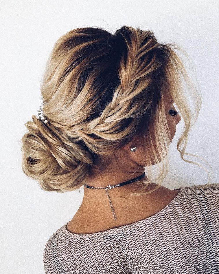 100 Gorgeous Wedding Hair From Ceremony To Reception Casual Hair Up Hair Up Styles Cute Wedding Hairstyles