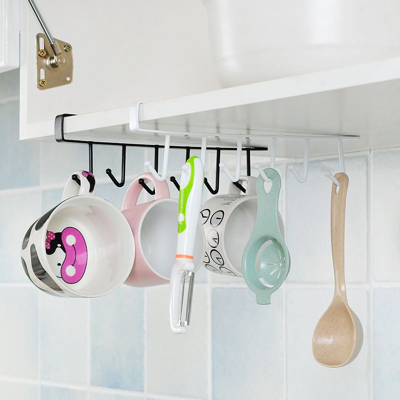 Etya Iron Kitchen Storage Rack Cupboard, Kitchen Cupboard Hanging Shelf