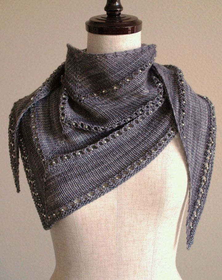 Free Knitting Pattern for Easy One Skein Age of Brass and Steam Wrap ...