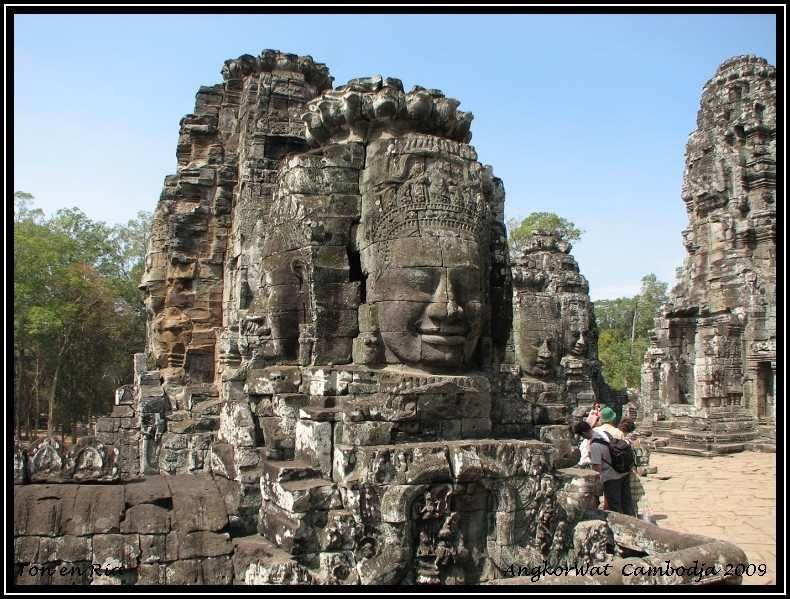 Wish I could see things like this in the flesh! Angkor Wat, Cambodja