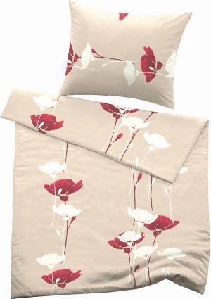 Feinflanell Bettwasche Mohnblume Von Fussenegger Bed Blanket Sheets