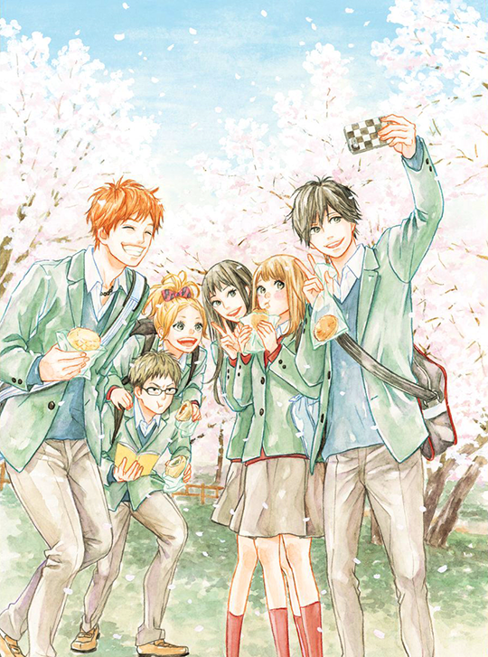Resultado de imagen de orange manga