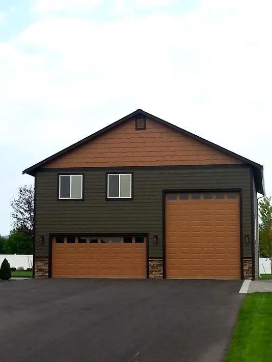 Plan 8 36 ft. x 40 ft. RV - Reality Homes Inc.   Custom ...