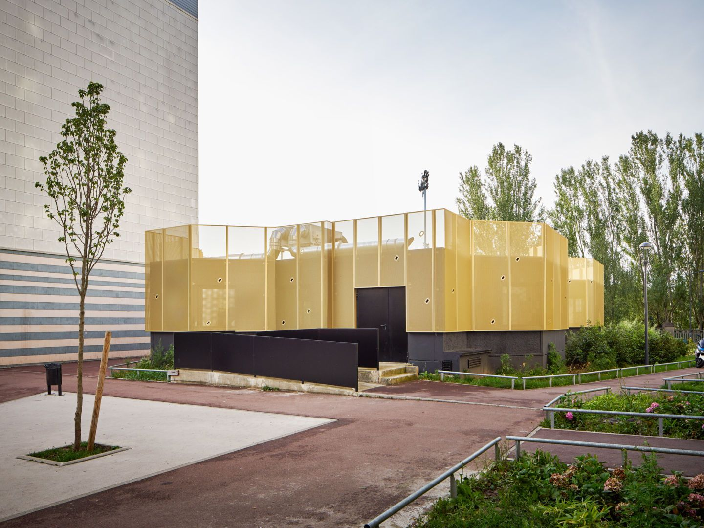 CUT Architectures, David Foessel · Community Centre CLEC · Divisare