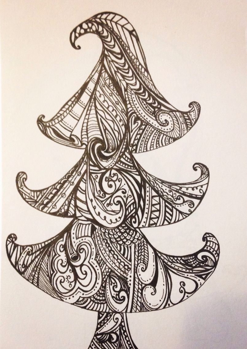 Tree doodle by Tracey Chorley