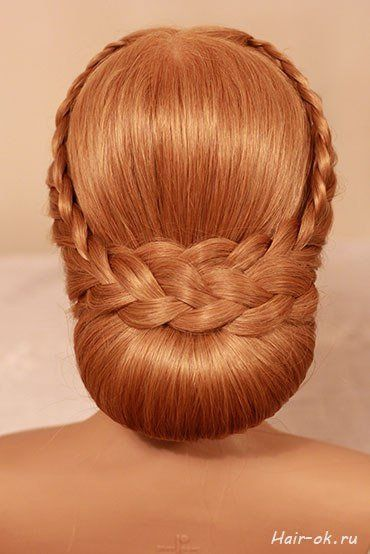 DIY Elegant Evening Braid Hairstyle #sidebraidhairstyles DIY Elegant Evening Braid Hairstyle - Hair Bun with Side Braid Wrap Instructions and Tutorials (Pictures) #sidebraidhairstyles