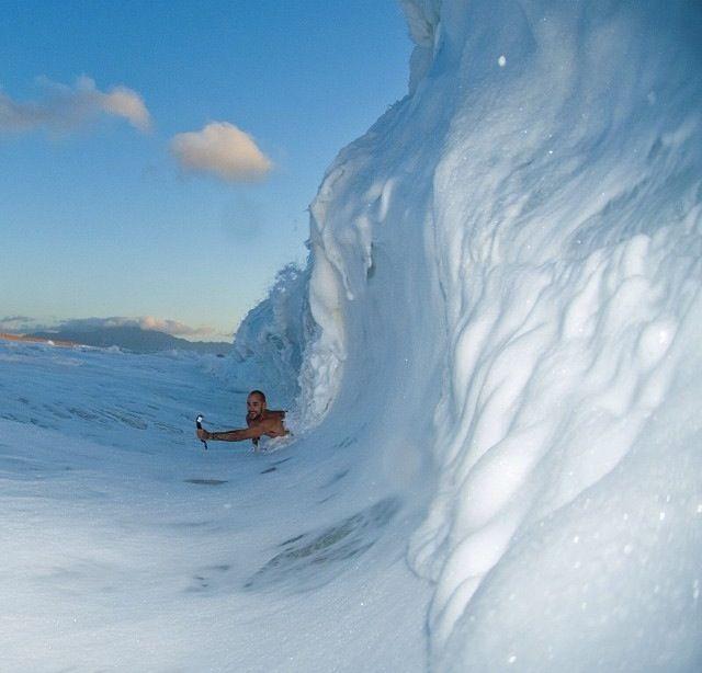 Hawaiian snow #surf #surfing #surfer #surfers #wave #waves #bigwave #bigwaves #barrel #barrels #barreled #coveredup #ocean #oceans #sea #seas #water #swell #swells #surfculture #island #islands #beach #beaches #tide #tides #oceanwater #surfboard #surfboards #saltlife #saltysea #saltwater