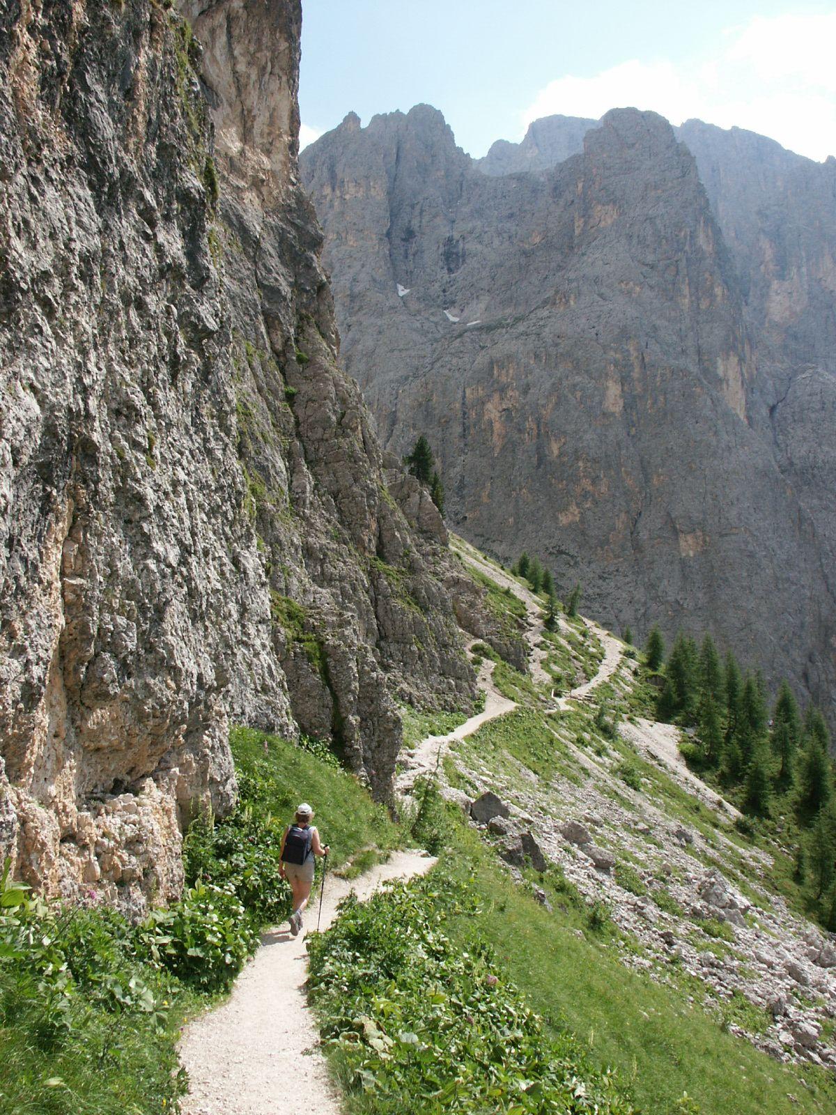 Italë, Dolomieten, Langkofelhütte