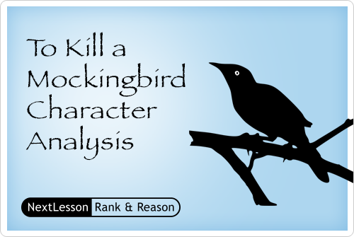 To Kill a Mockingbird Character Analysis - Critical Thinking/problem Solving Skills, Collaboration Skills, Communication Skills, Accountability For High Standa…