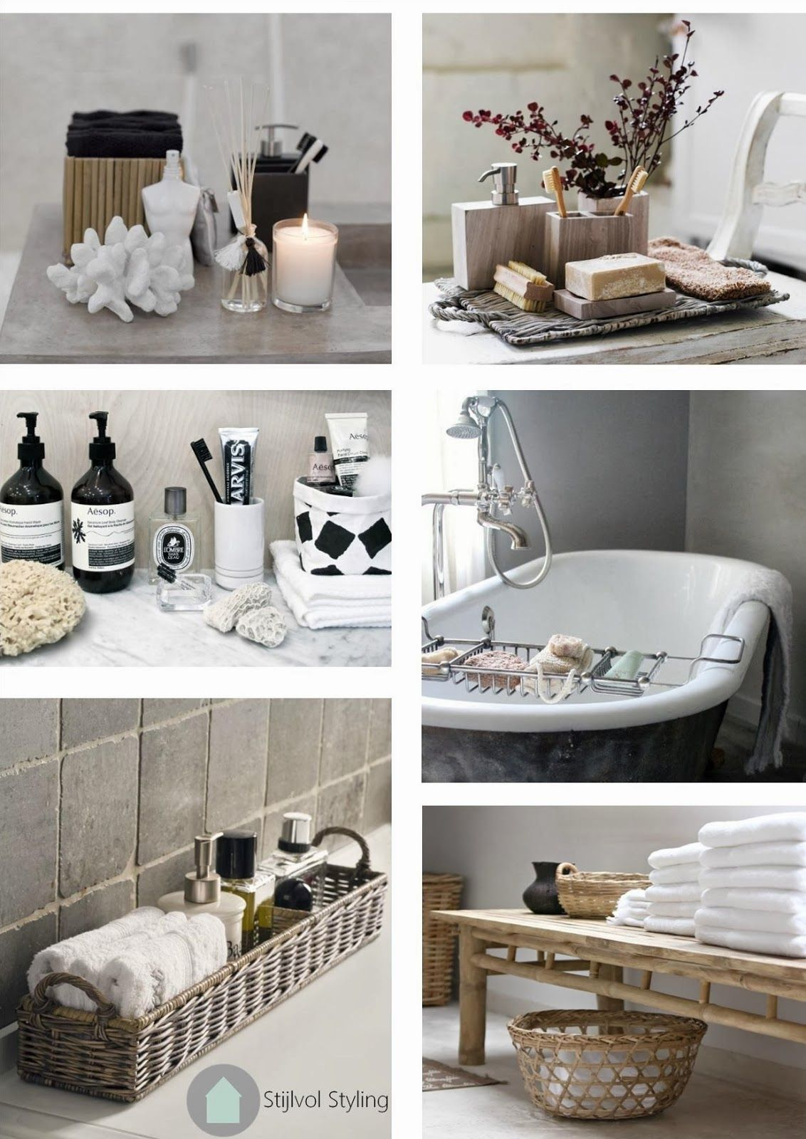interieur accessoires en styling inspiratie voor de badkamer bathroom sink decor attic bathroom