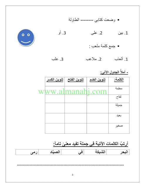 الصف الثاني الفصل الأول لغة عربية 2018 2019 ورقة عمل للصف الثاني موقع المناهج Learning Arabic Arabic Worksheets Language
