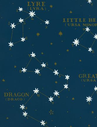 Ralph Lauren Northern Hemisphere Wallpaper The Stars Glow In Dark