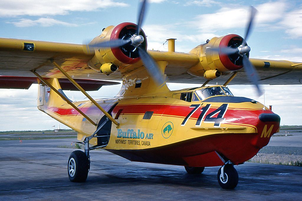 """(T714) CONSOLIDATED CANSOA PBY5A """"Catalina"""" (CFQM"""