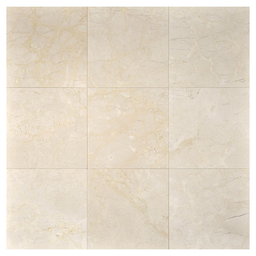 Complete Tile Collection Natural Stone Marble Tile, Crema Marfil ...