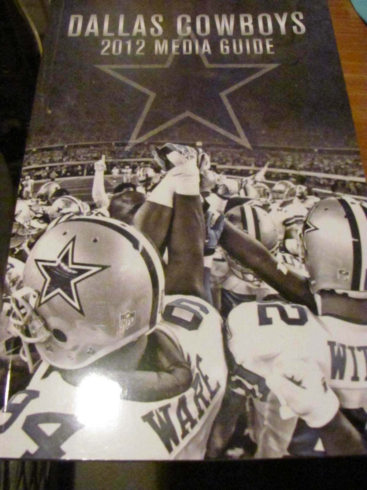 2012 DALLAS COWBOYS MEDIA GUIDE Team Information Compendium 52nd ...