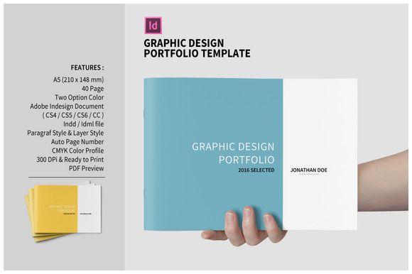 Graphic Design Portfolio Template | Graphic design portfolios and ...