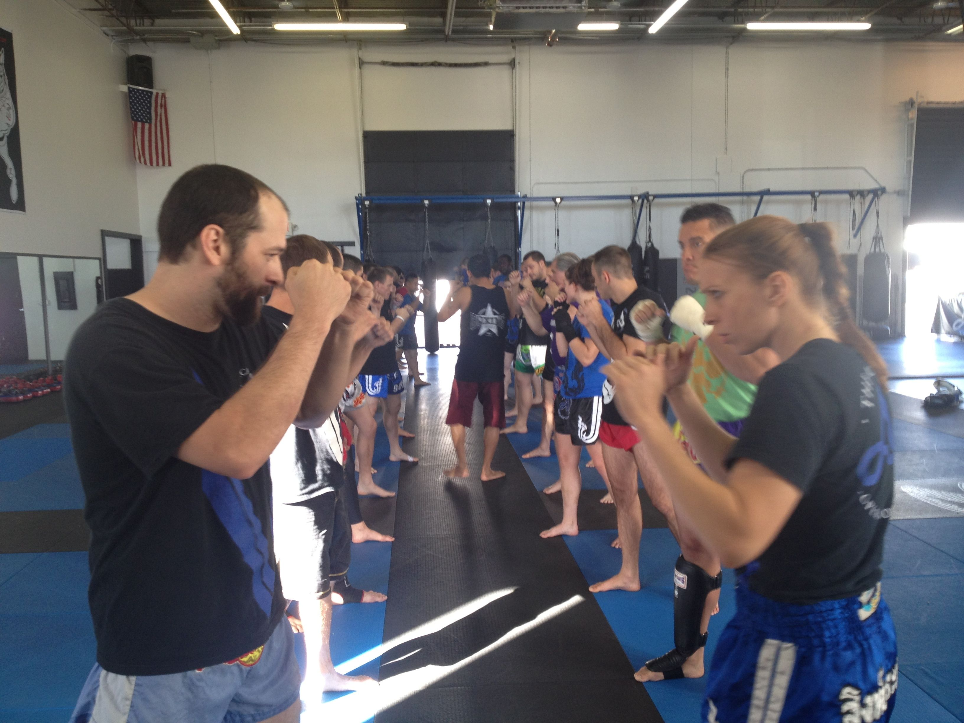 Kickboxing in Minneapolis! With world class training from Thailand!
