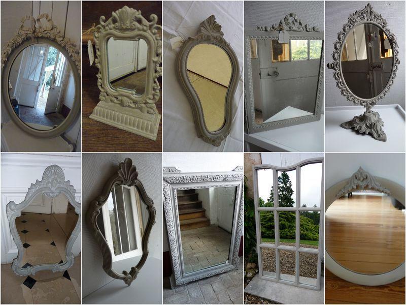 miroirs en pagaille