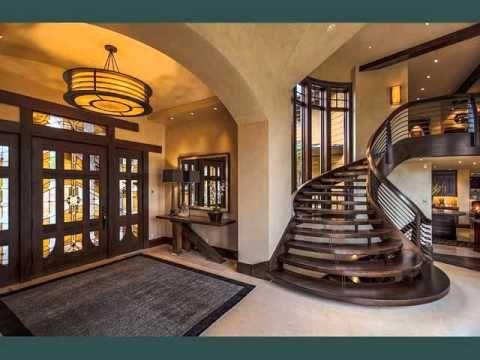 Semi Spiral Staircase Design Attractive Staircase Design Romance | Semi Spiral Staircase Design | Handrail | Inside | Semi Circular | Elegant | Residential Library