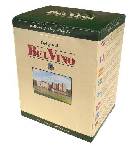 Belvino Blueberry & Raspberry Rosé Wine Kit. Christmas gardener gift idea