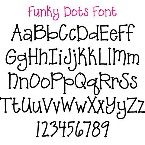 Applique Fonts available through Polka Dot Market