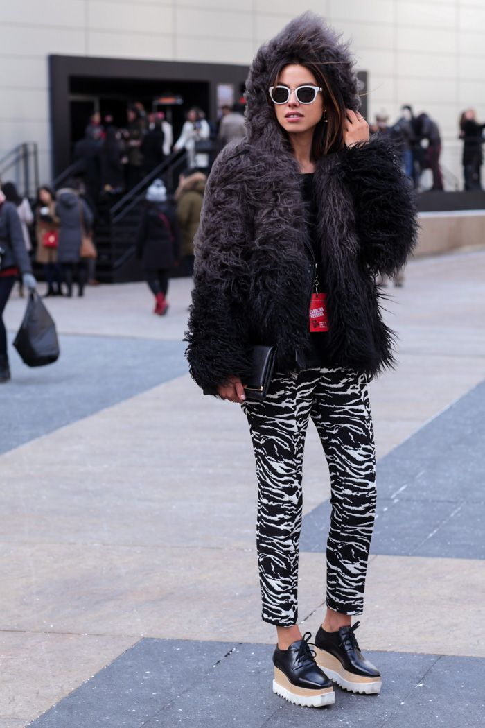 lug sole shoes 2017 with 2017 printed pants 2017 and fur hoodies