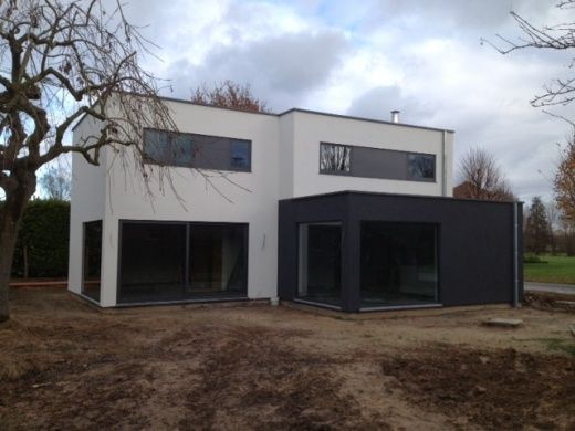 Pin by BJ Concept Building Group on Crepi bij houtskeletbouw