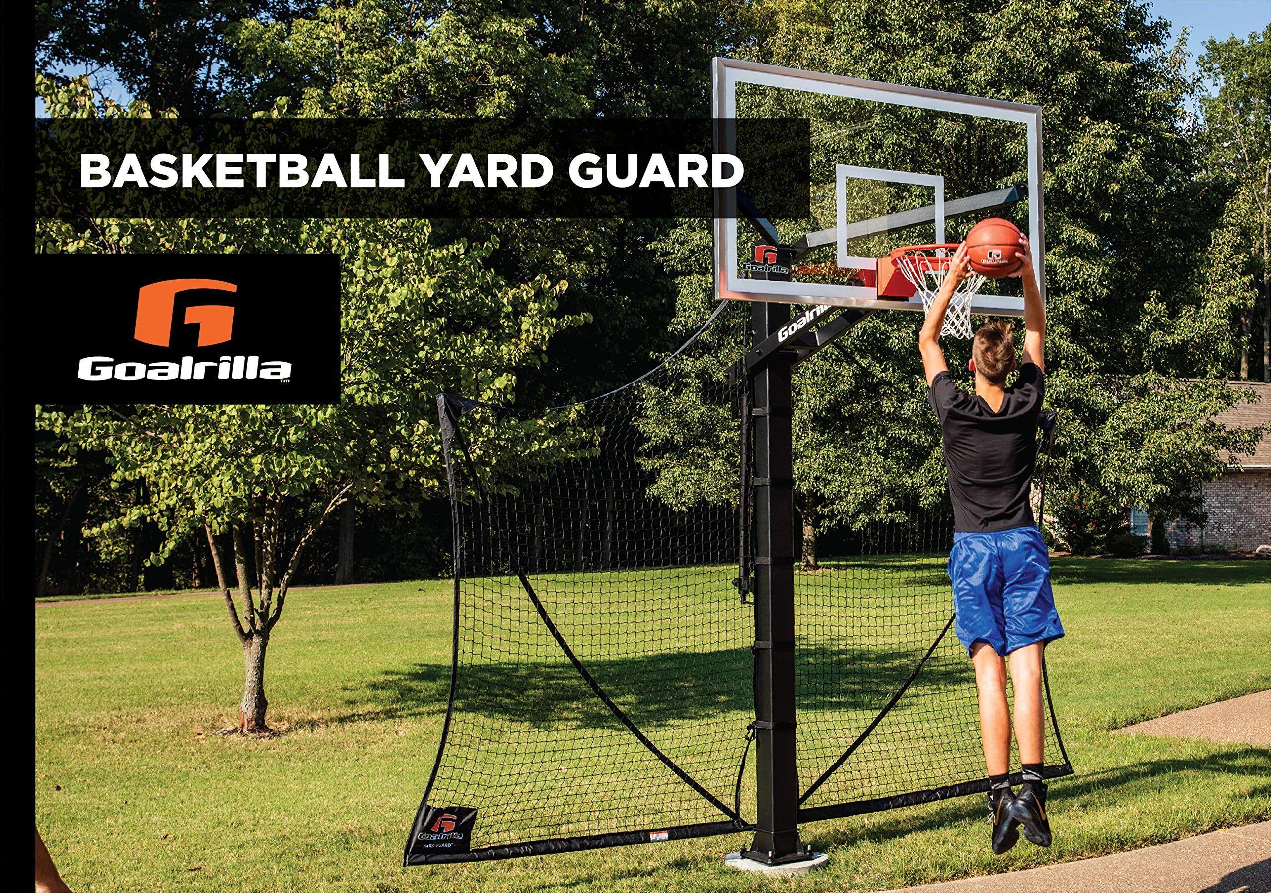 Amazon Com Goalrilla Basketball Yard Guard Easy Fold Defensive Net System Quickly Installs On Any Basketball Hoop 3 Pack In 2020 Basketball Basketball Hoop Guard