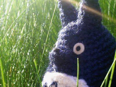 Totoro Azul Amigurumi : Wikigurumi patrón totoro azul blue totoro pattern crochet