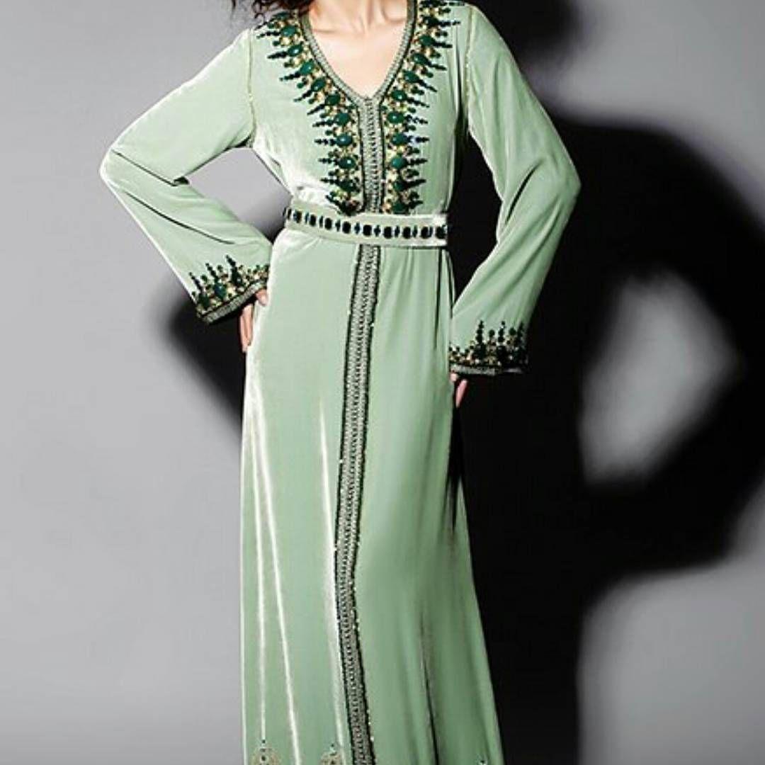 Pin On Caftans Abayas Maxi Dress