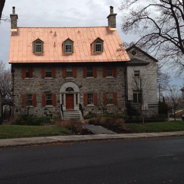 Kate S Cottage Copper Brown Caramel Copper Roof Copper Metal Roof Copper Roof House