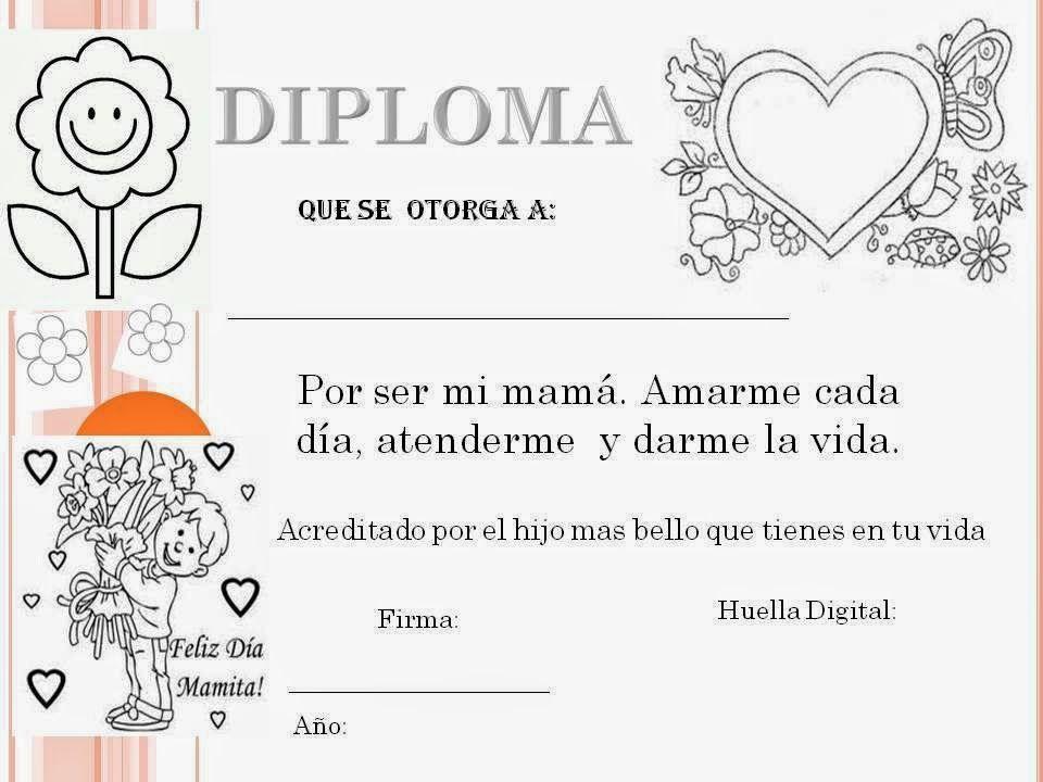 Maestra De Primaria Tarjetas Del Día De La Madre Para