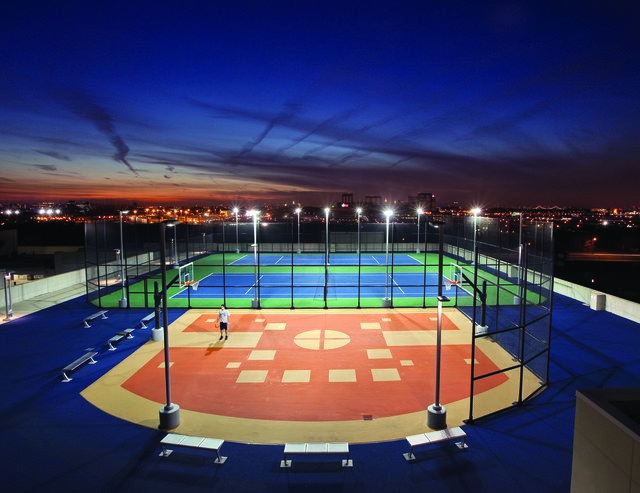 10 Spectacular Tennis Courts Around the World ! 🎾 Parc