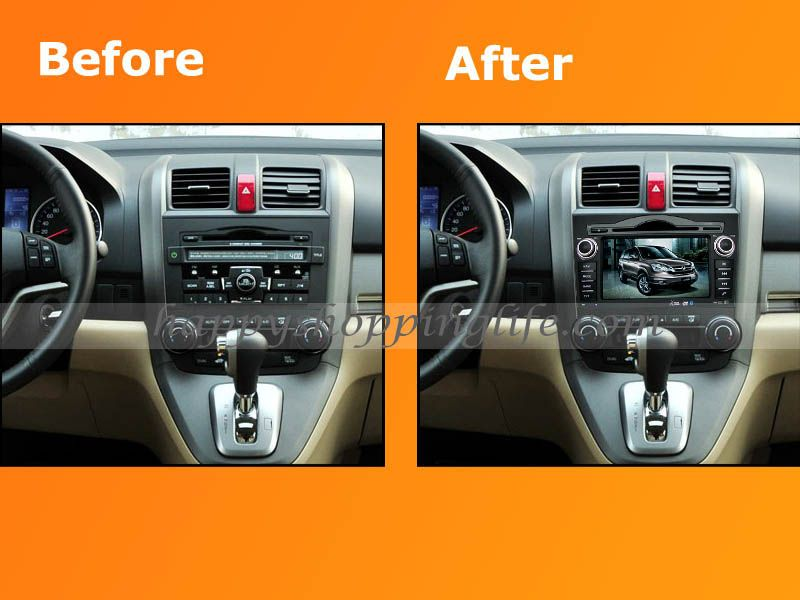 honda crv dvd player with gps ipod bluetooth honda dvd playerhonda crv 2007 2011 dvd player, 8 inch hd touch screen, gps navigation