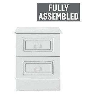Buy Collection Stratford 2 Drawer Bedside Chest - White at Argos.co.uk, visit…