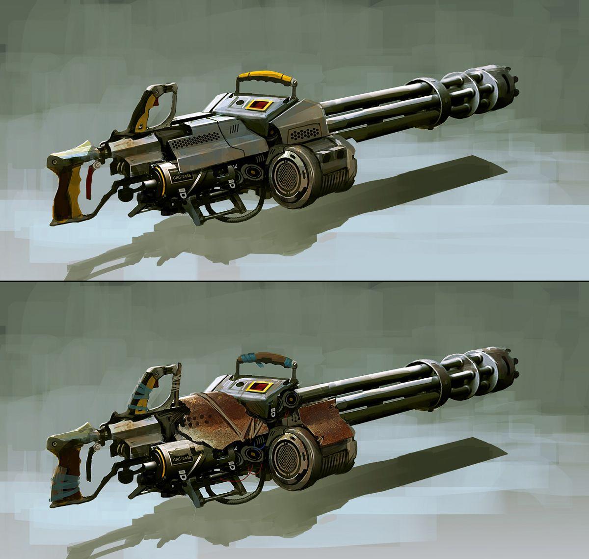 Pin on Cyberpunk Weapons