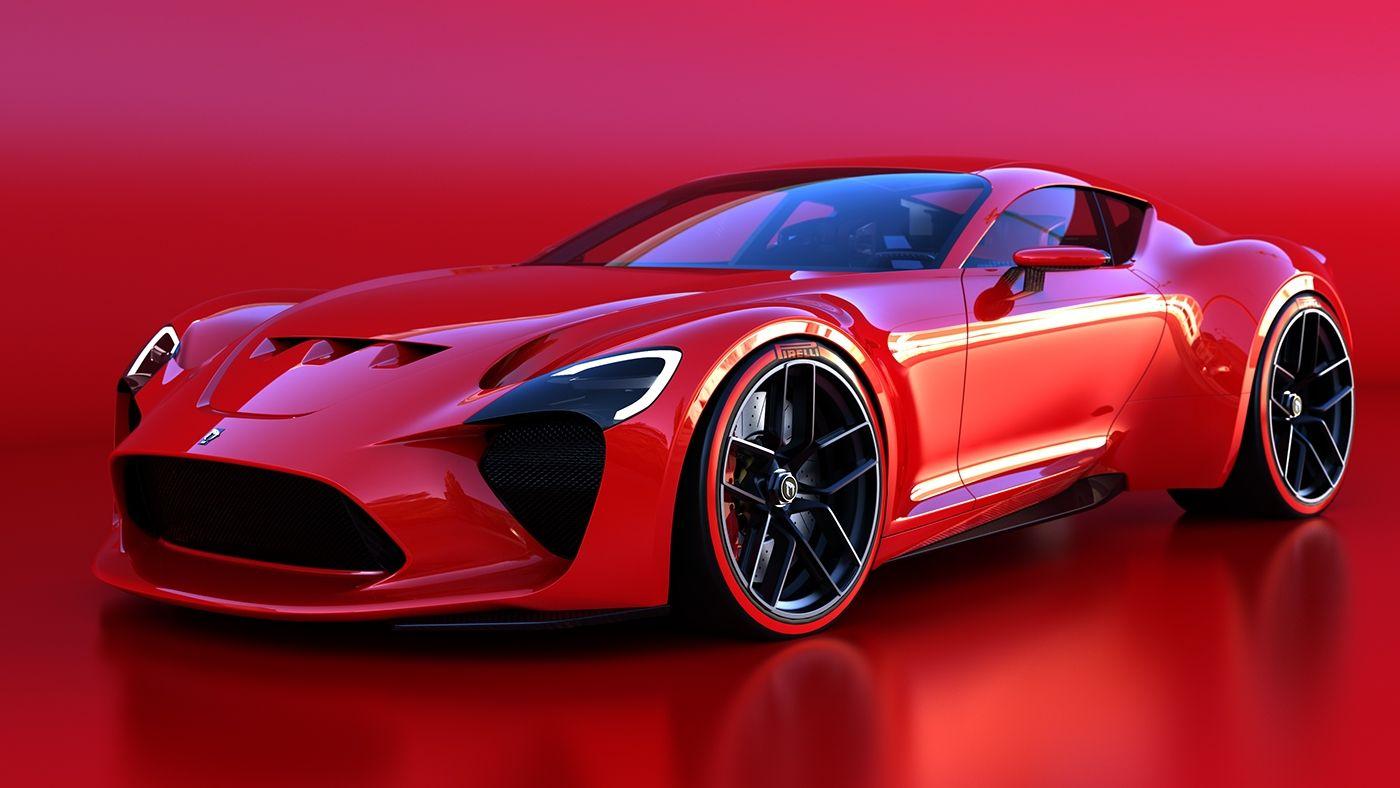 612 gto iii red by sasha selipanov cars concept