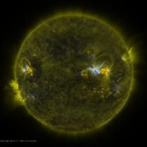 NASA Shows Sun First Photos in Quadruple HD