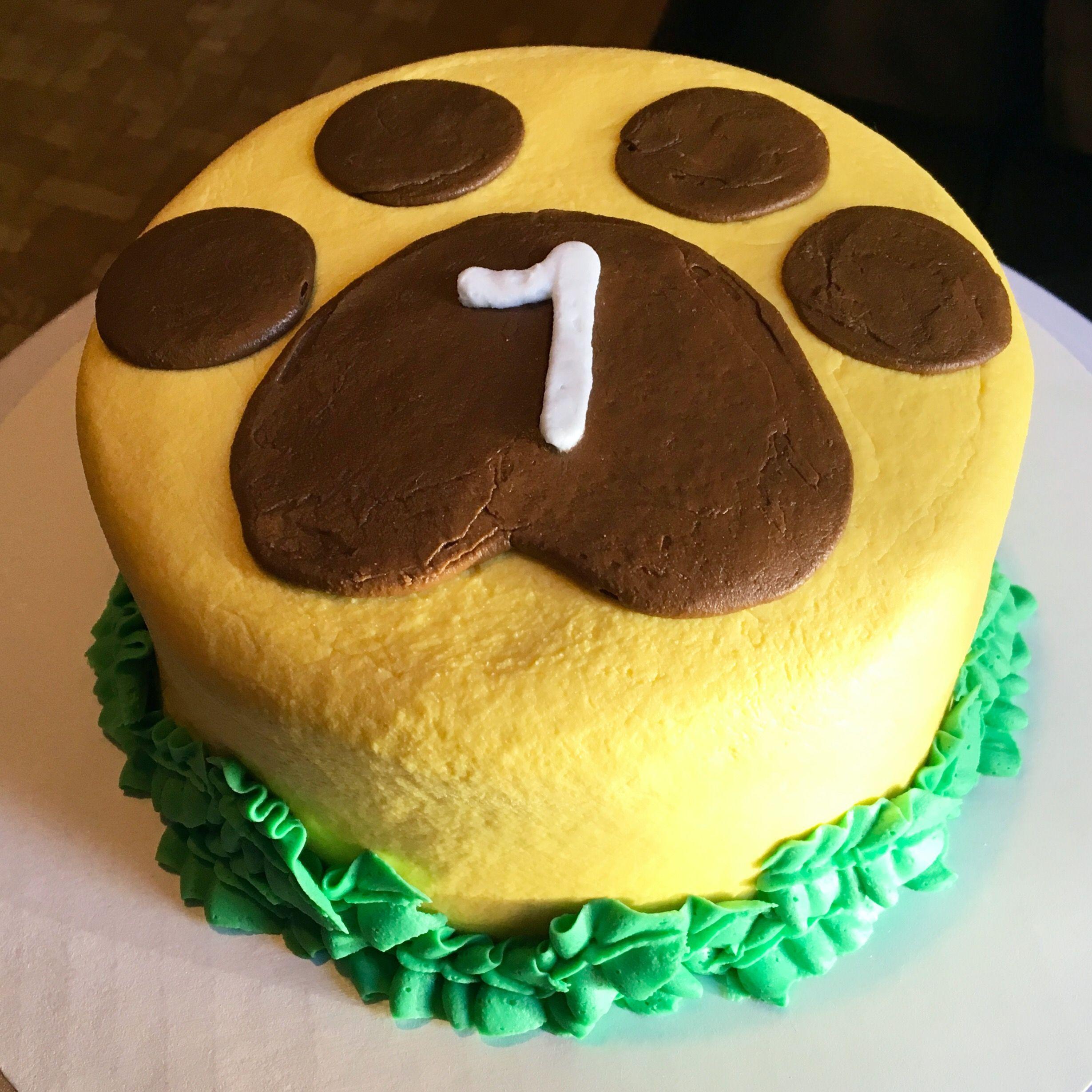 Lion King Smash Cake
