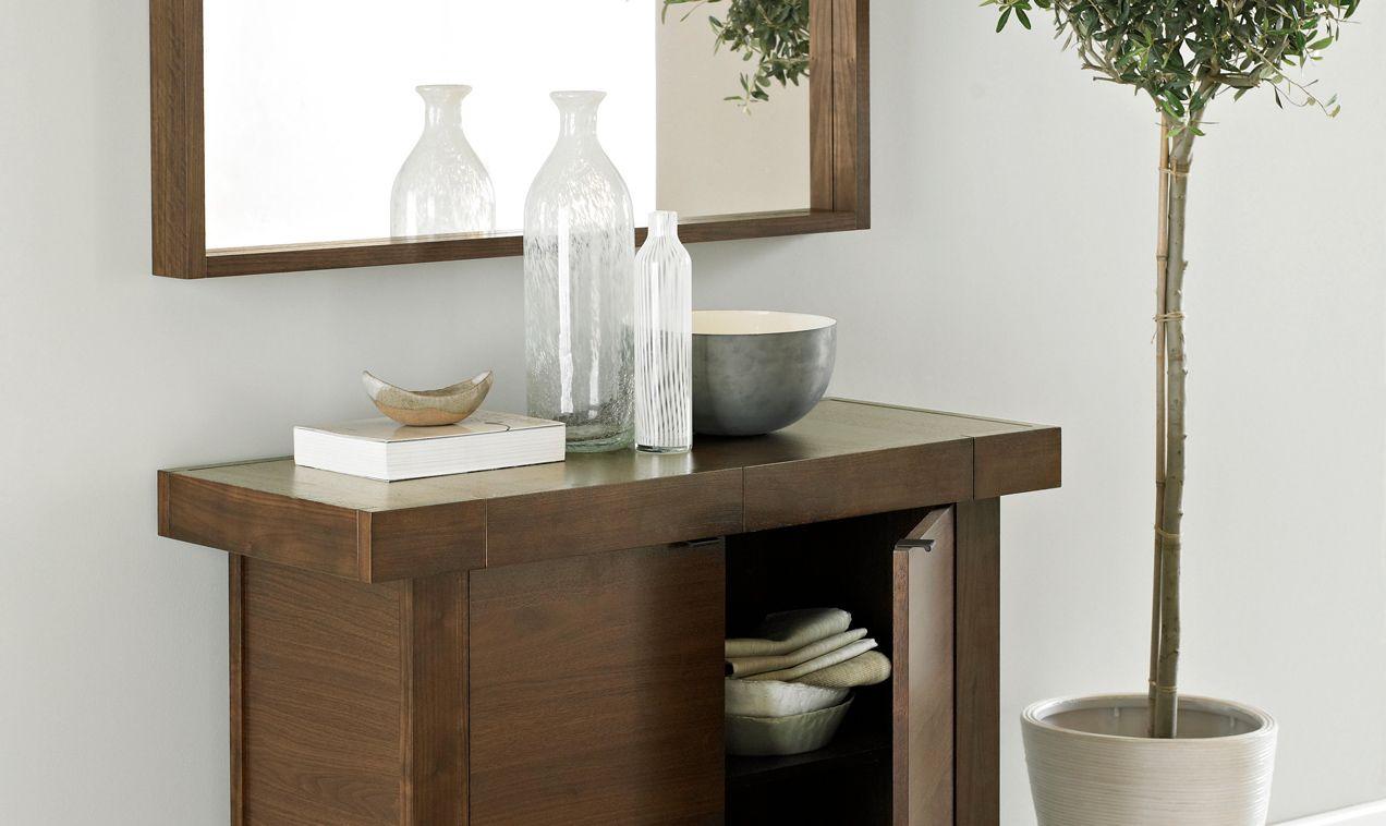 bentley designs akita walnut living room furniture  lamp