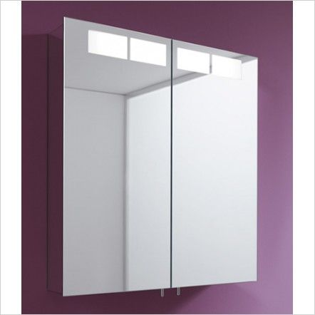 keuco royal t1 bathroom mirror cabinet two door - Bathroom Cabinets Keuco